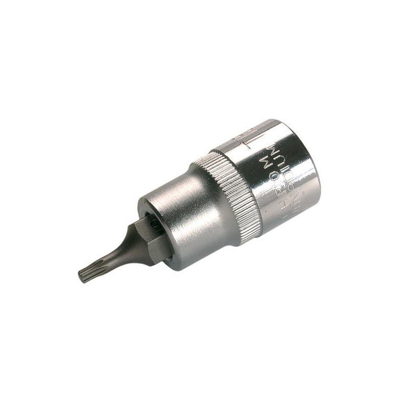 Bit Socket length 140mm 12.5mm (1/2'') drive T-Star (for Torx) T25 - Code BGS9364