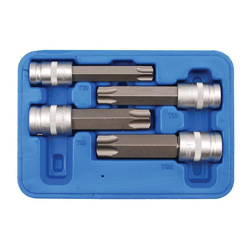 Bit Socket length 110mm 12.5mm (1/2'') drive T-Star tamperproof (for Torx) T100 - Code BGS5103-TB100