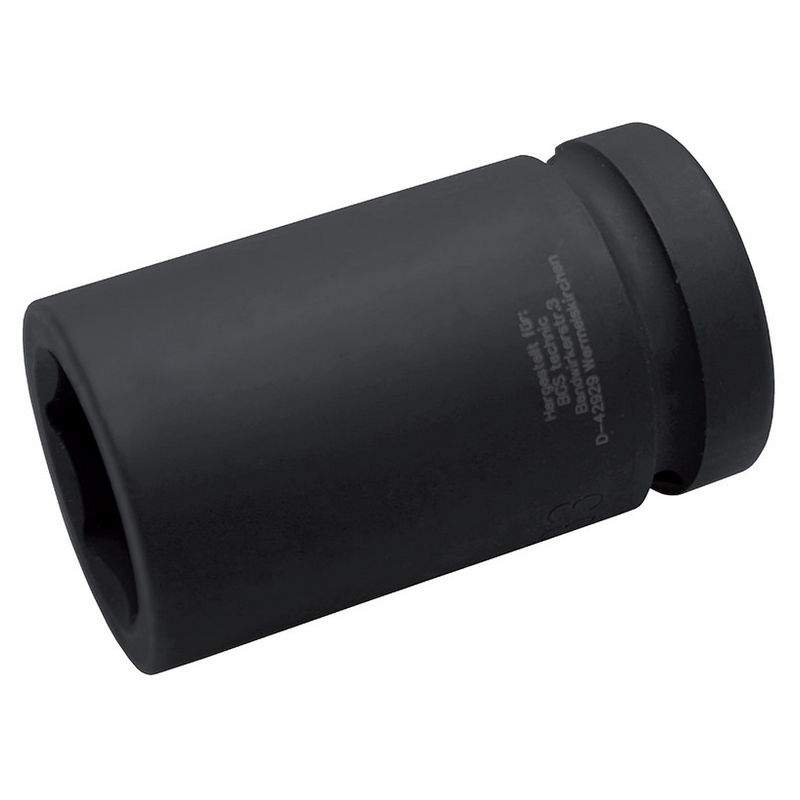 Impact Socket Hexagon deep 25mm (1'') drive 34mm - Code BGS5500-34