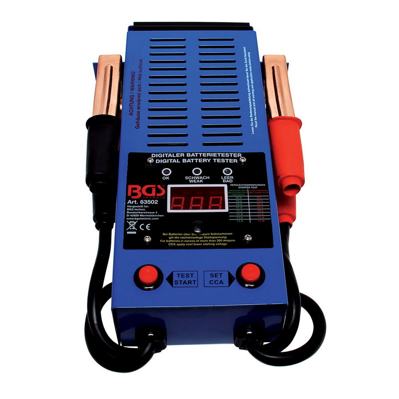Tester Digitale Per Batterie - Codice BGS63502