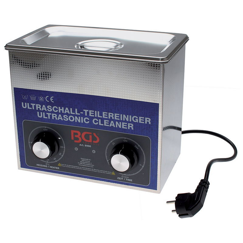 Ultrasonic Parts Cleaner 3 Litre - Code BGS8990