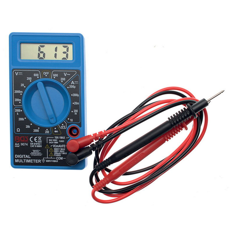 Digital Multimeter 3 1/2-digit - Code BGS9074