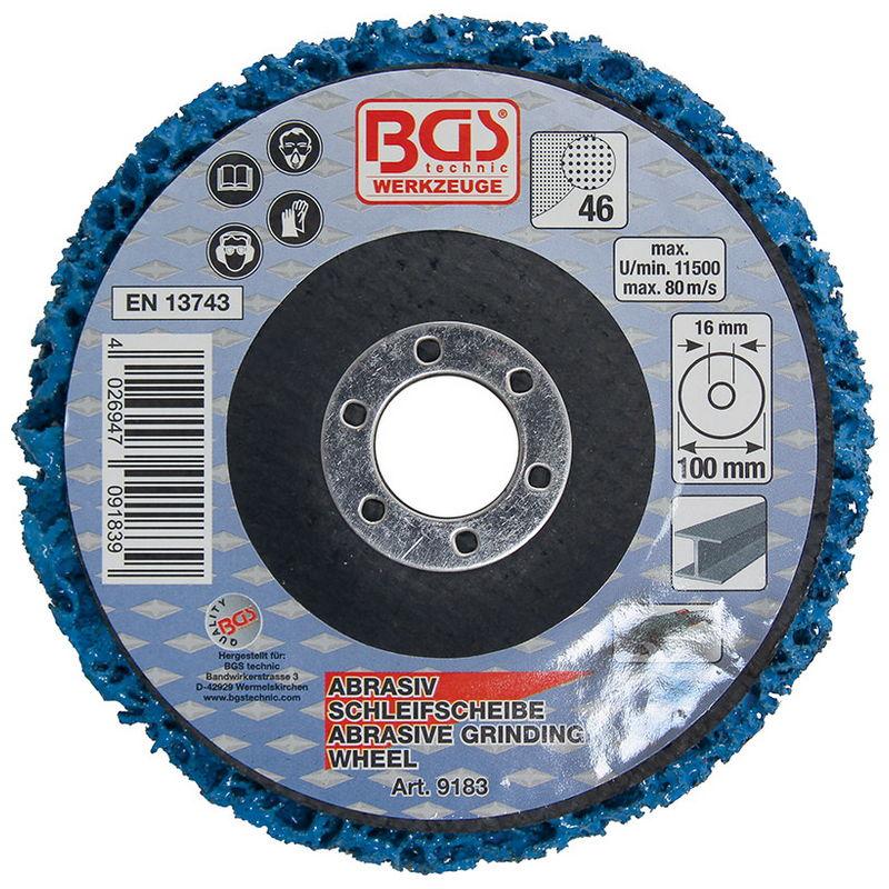 Dischi Abrasivi Blu 100 X 16mm - Codice BGS9183