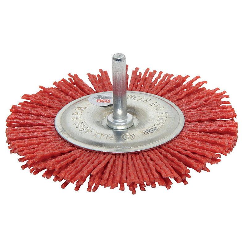 Spazzola In Nylon A Disco Diametro 100mm - Codice BGS9186