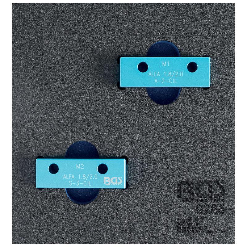 Camshaft Locking Tool Set for Alfa Romeo 1.8L / 2.0L 16V - Code BGS9265