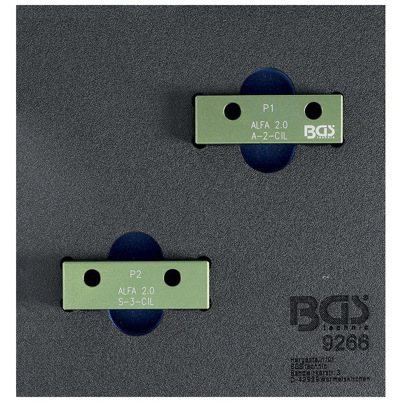 Camshaft Locking Tool Set for Alfa Romeo 2.0L 16V JTS - Code BGS9266