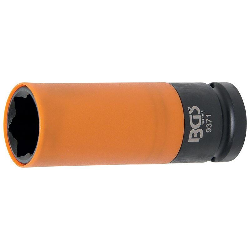 Protective Sleeve Impact Socket for Hyundai i30 Tucson & Kia 12.5mm (1/2'') drive 21mm - Code BGS937