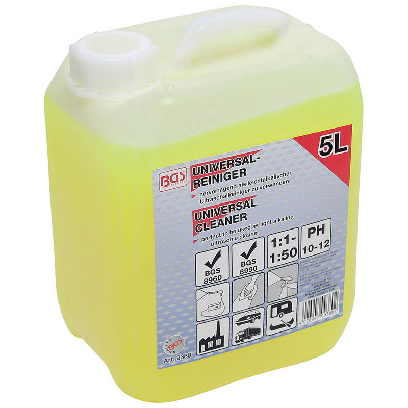 Universal Cleaner 5 Litres - Code BGS9380