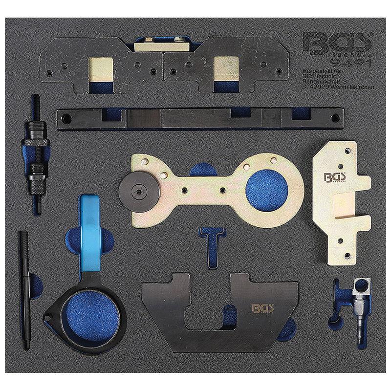 Tool Tray 2/3: Engine Timing Tool Set for BMW M40 M44 M50 M52 M54 M56 - Code BGS9491