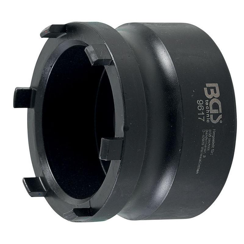 Groove Nut Socket for Wheel Hubs external pins for Mercedes-Benz Nissan Opel Renault VW - Code BGS96